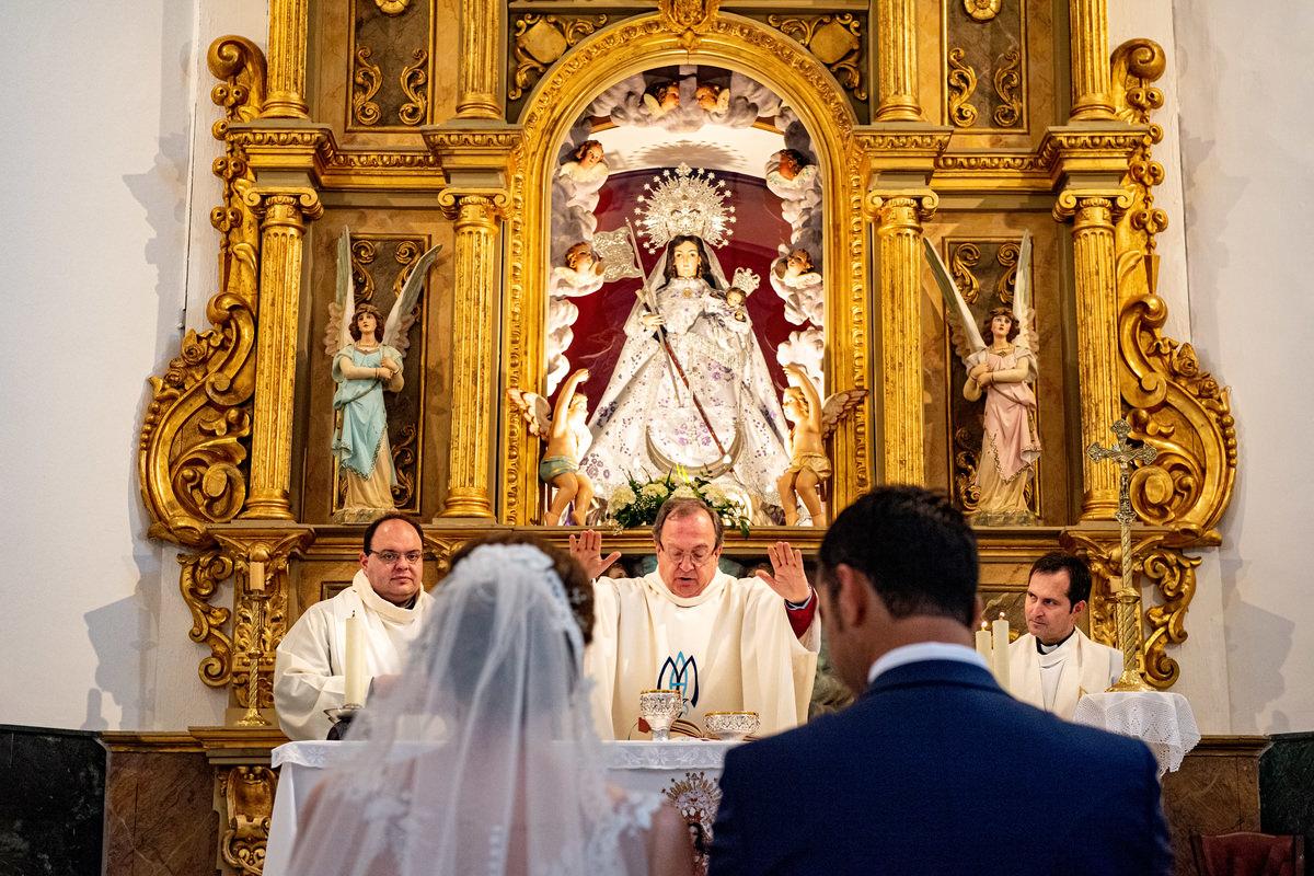 boda virgen de la paz